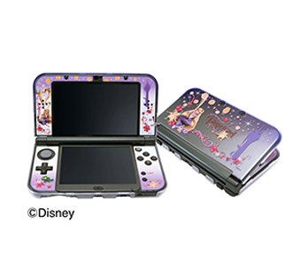 Newニンテンドー 3DS LL専用<br>コーディネートセット<br>ラプンツェル