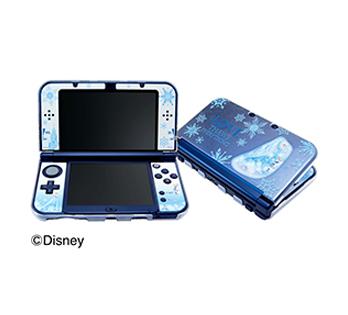Newニンテンドー 3DS LL専用<br>コーディネートセット<br>エルサ&オラフ(アナと雪の女王)