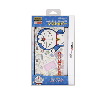 Newニンテンドー3DS LL専用<br>ソフトカバー<br>ドラえもん(ひみつ道具)