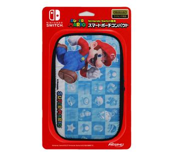 Nintendo Switch専用<br>スマートポーチコンパクト スーパーマリオ