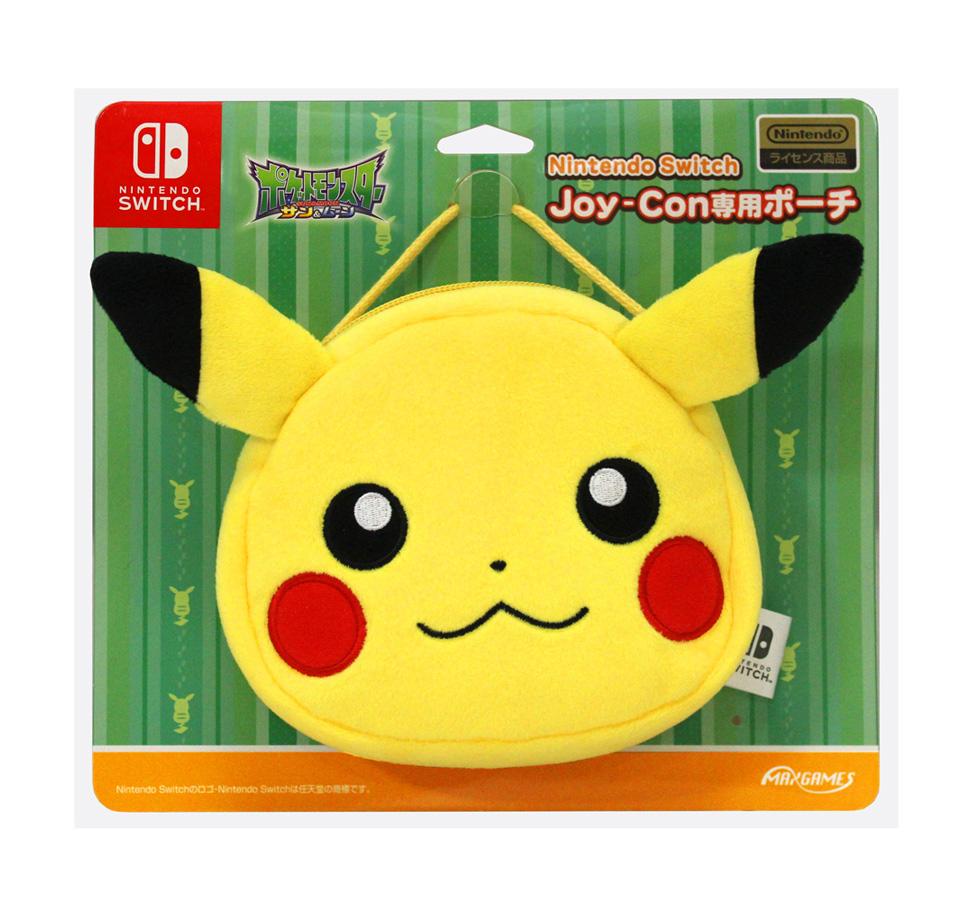 Nintendo Switch Joy-Con専用ポーチ<br>ピカチュウ