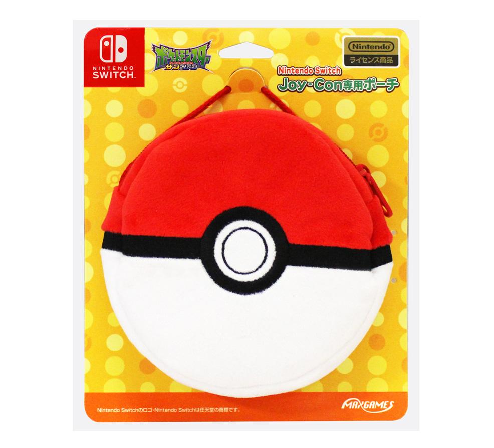 Nintendo Switch Joy-Con専用ポーチ<br>モンスターボール
