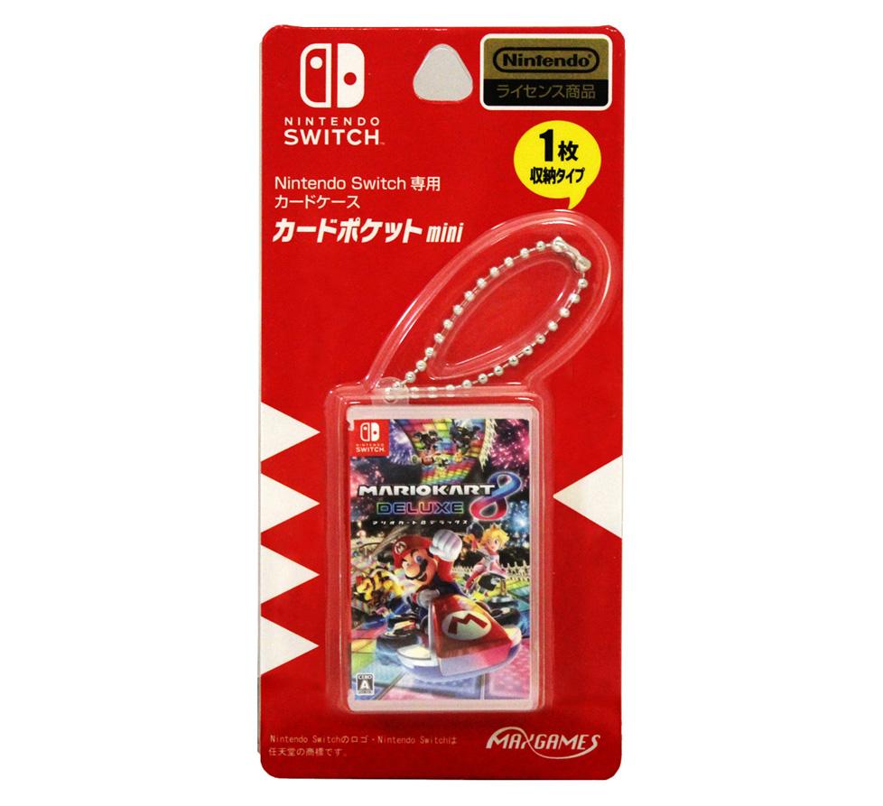 Nintendo Switch専用カードケース<br>カードポケットmini マリオカート8 デラックス
