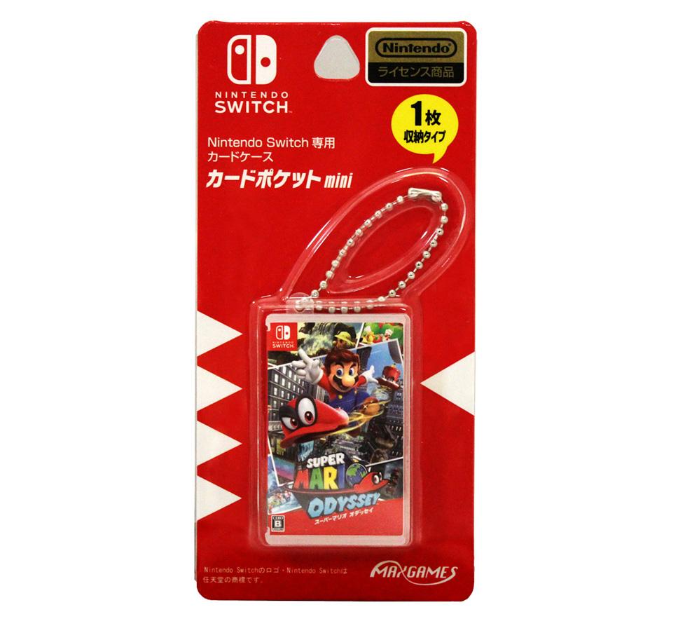 Nintendo Switch専用カードケース<br>カードポケットmini スーパーマリオ オデッセイ