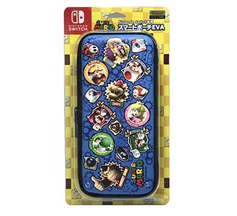 Nintendo Switch専用 <br>スマートポーチEVA スーパーマリオ ワッペン