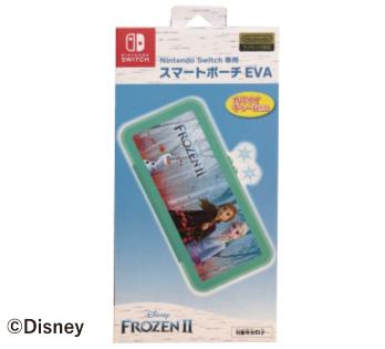 Nintendo Switch専用<br>スマートポーチEVA<br>『アナと雪の女王2』ムービー柄