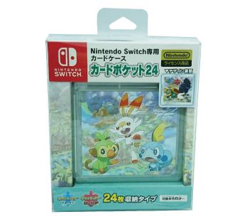 Nintendo Switch専用カードケース<br>カードポケット24<br>ガラル地方の仲間たち