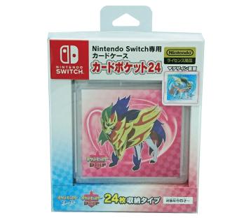 Nintendo Switch専用カードケース<br>カードポケット24<br>伝説のポケモン