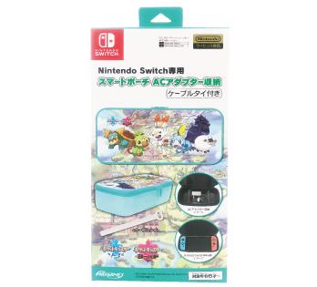 Nintendo Switch 専用<br>スマートポーチ ACアダプター収納<br>ガラル地方の仲間たち
