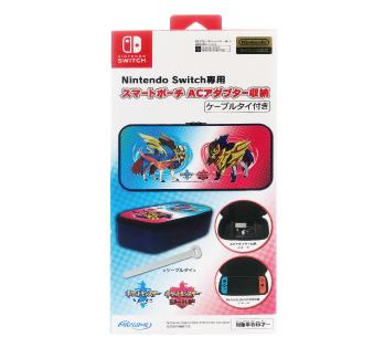 Nintendo Switch 専用<br>スマートポーチ ACアダプター収納<br>伝説のポケモン