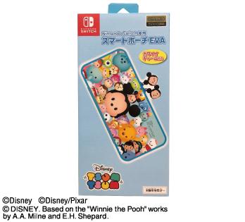 Nintendo Switch専用<br>スマートポーチEVA<br>ツムツム