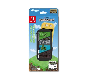 Nintendo Switch Lite専用<br>スマートポーチEVA<br>マインクラフト 4キャラクター