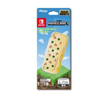 Nintendo Switch Lite専用<br>ハードカバー<br>マインクラフト クリーパー