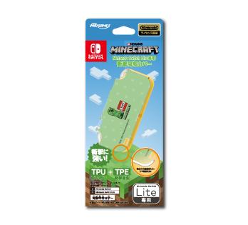 Nintendo Switch Lite専用<br>衝撃吸収カバー <br>マインクラフト クリーパー