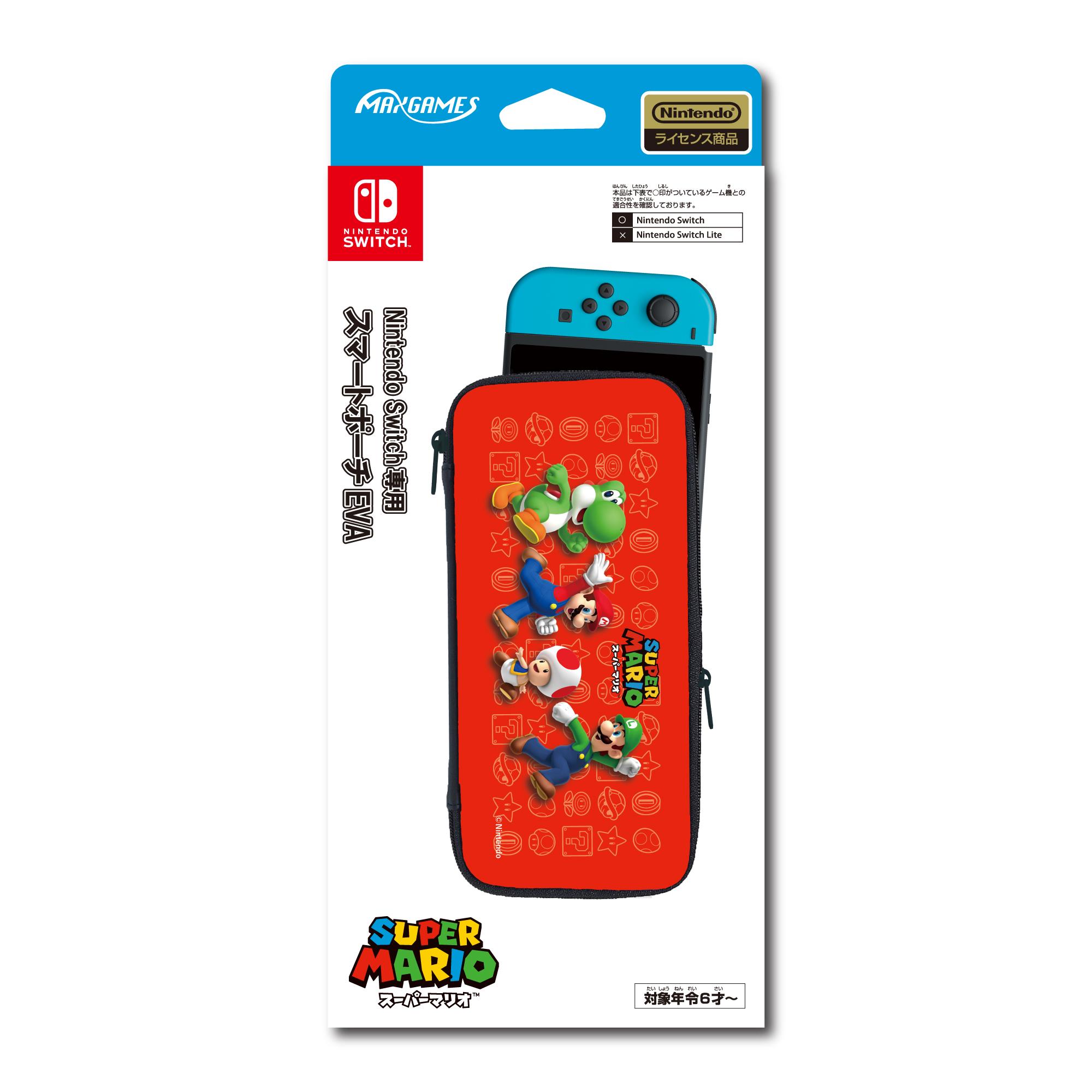 Nintendo Switch専用<br>スマートポーチEVA<br>スーパーマリオ
