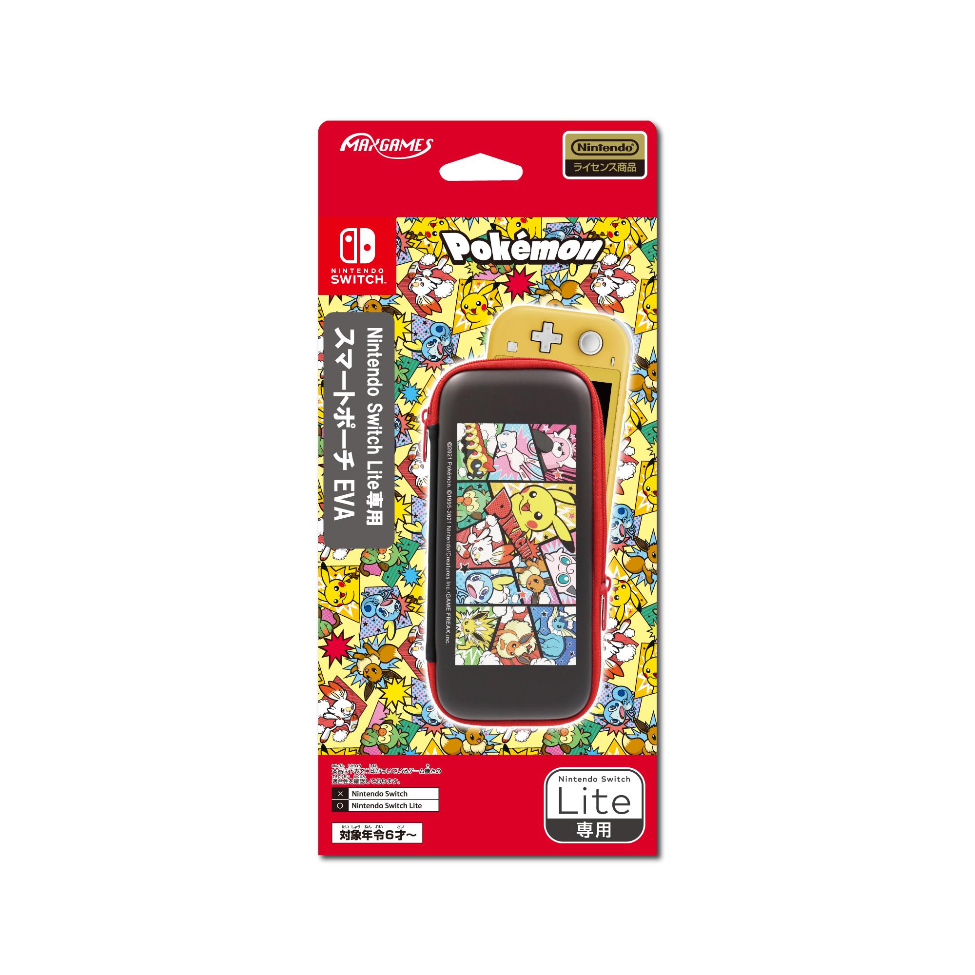 Nintendo Switch Lite専用<br>スマートポーチEVA<br>ポケットモンスター コミック